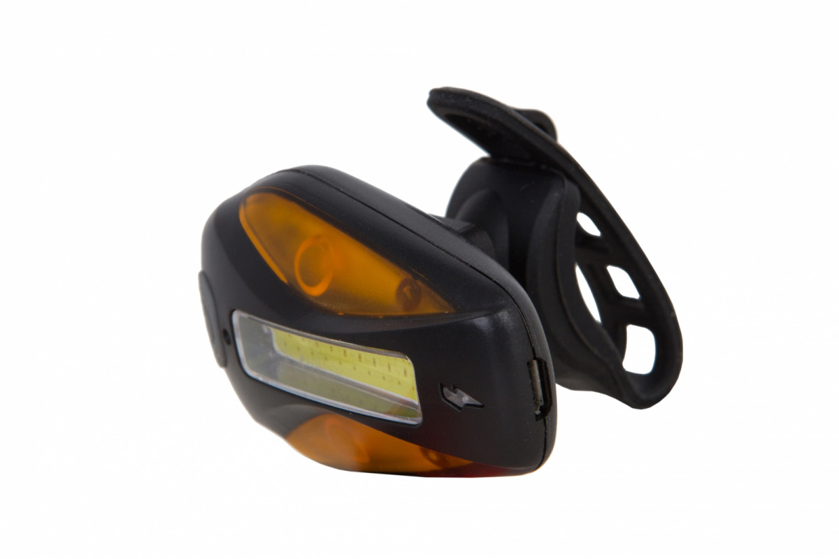 Фото Фонарь габаритный PL209R белый+красный+желтый свет 20 светодиодов, USB Pl (черный корпус) с официального сайта OSKAR™