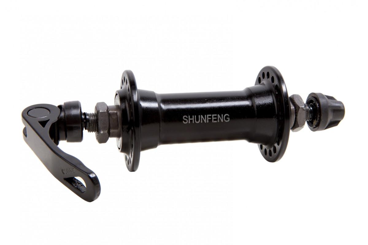 Фото Втулка передняя AL 36H Vbr SHUNFENG SF-A202F черн. с эксцентр. с официального сайта OSKAR™