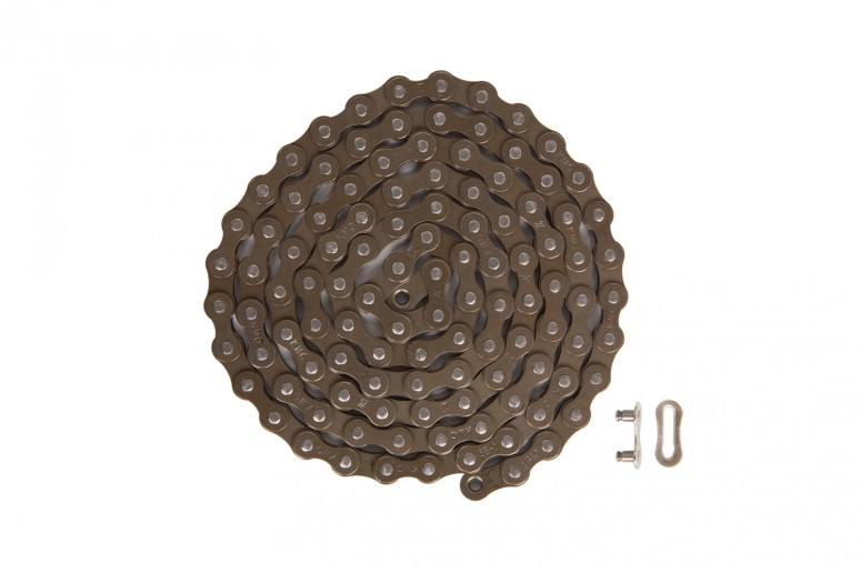 Цепь 1ск. 112зв. brown/brown КМС Z1 с замком