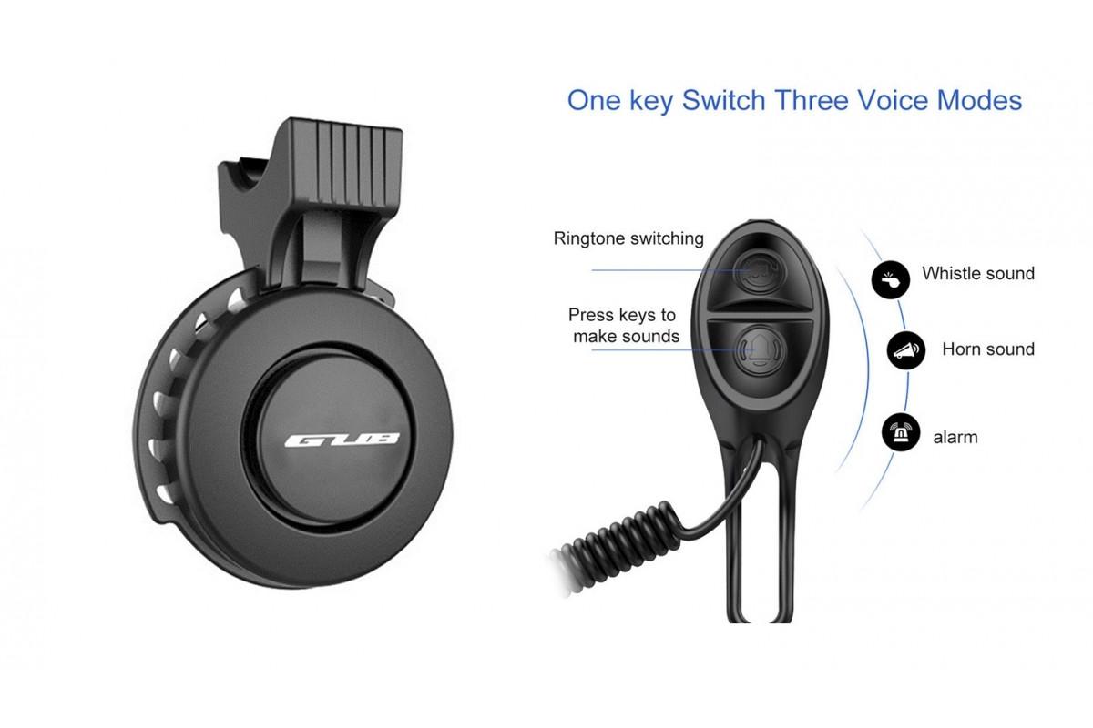 Фото Звонок электронный, мощность 120 Дб USB черный BC-BB3330 с официального сайта OSKAR™