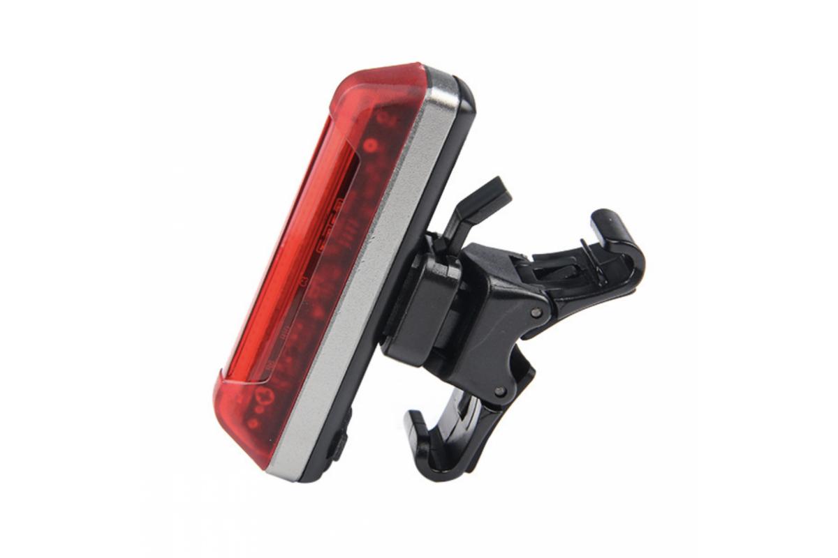 Фото Фонарь габаритный задний BC-FL1231 LED, USB, (красный) с официального сайта OSKAR™