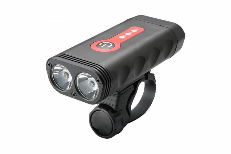 Фонарь пер. BC-FL1580 2 светодиода 600лм питание Li-on 4400mAh USB