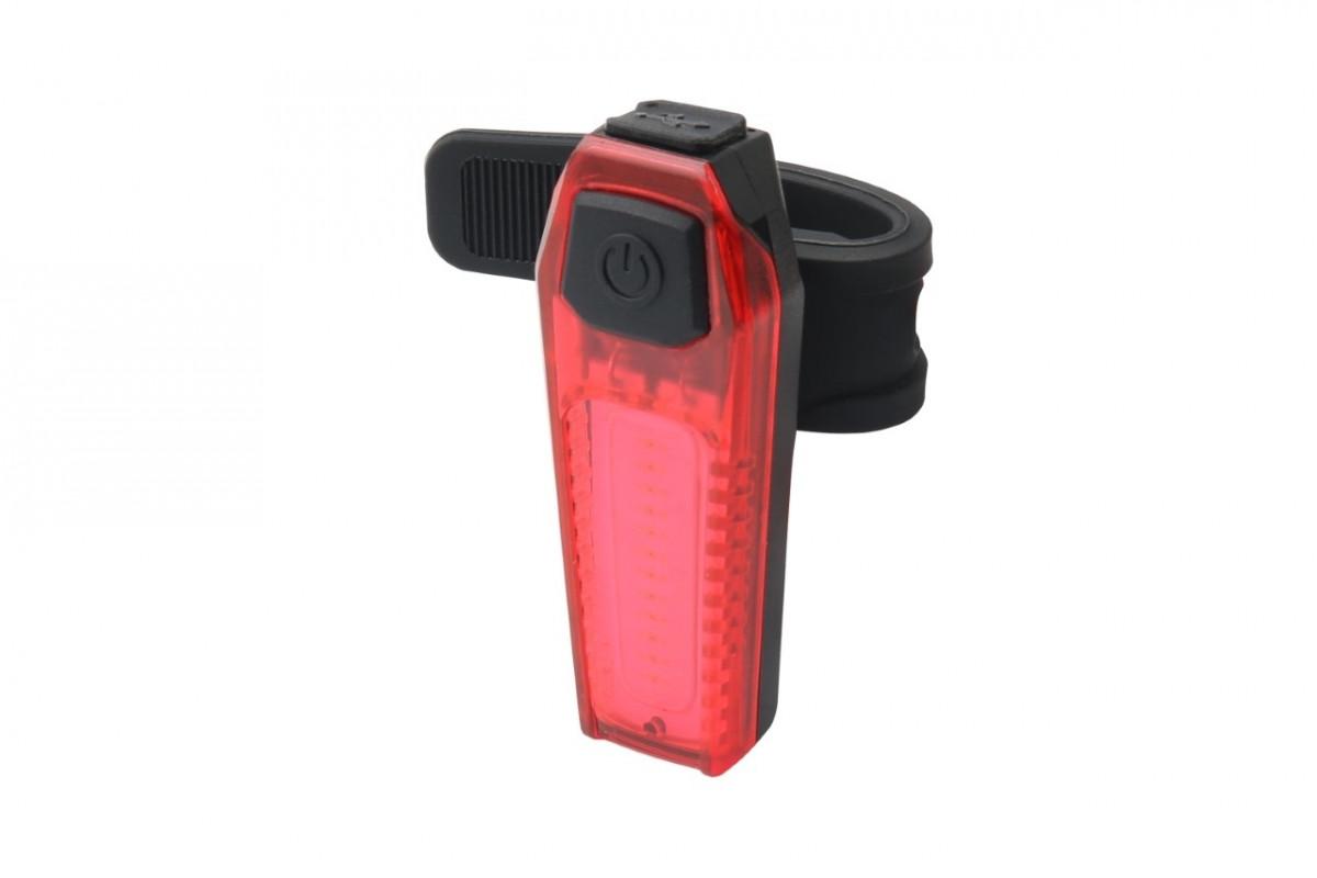 Фото Фонарь габаритный задний (плоский) BC-TL5476 LED, USB, (красный) с официального сайта OSKAR™