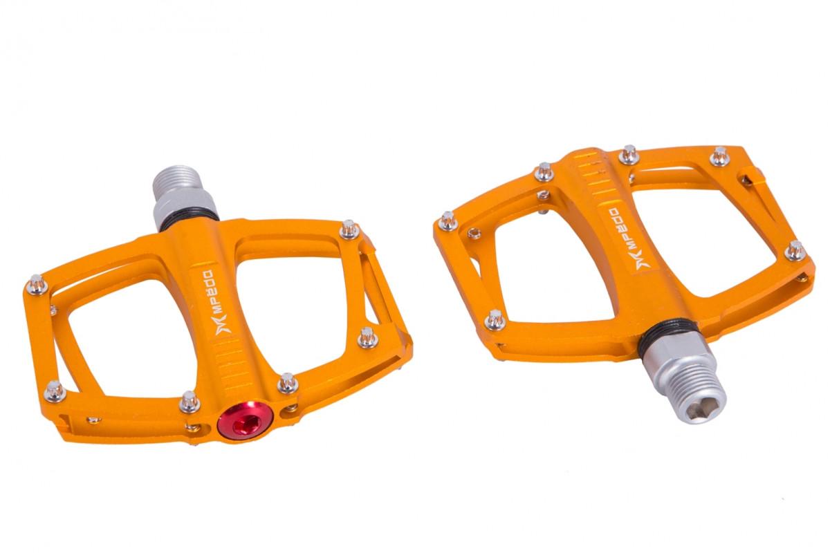 Фото Педаль MTB Al пром. Подшипн. Сменные шипы Mpeda ALNC-648 (Gold) с официального сайта OSKAR™