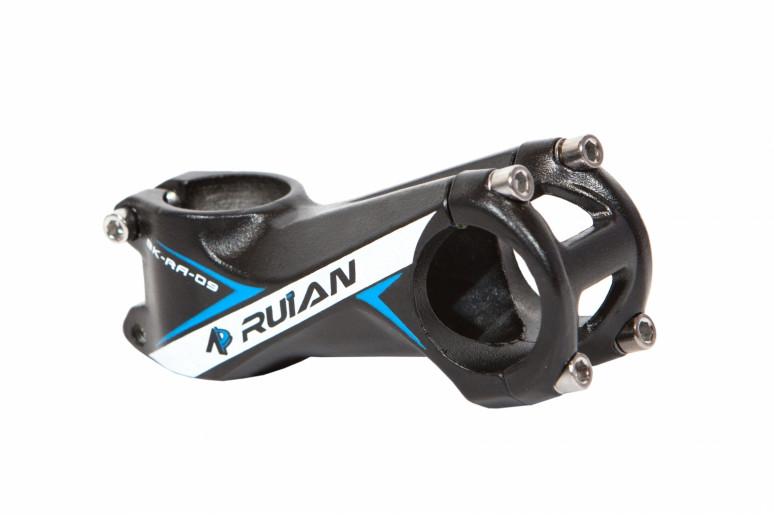 """Вынос руля AL 1-1/8"""" RUIAN RA-009 д.31,8мм длина: 80 mm черн."""