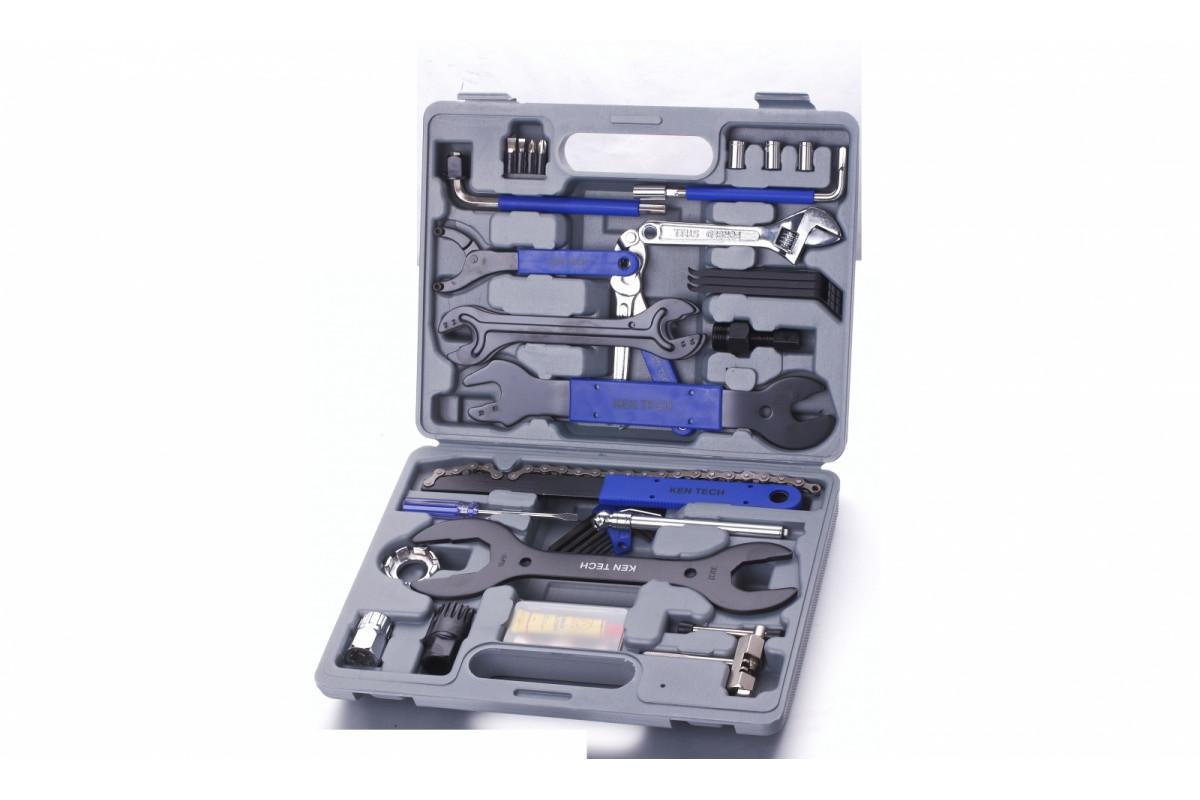 Фото Набор инструментов для домашн. обслуживания KL-9810 37шт в пласт. боксе с официального сайта OSKAR™