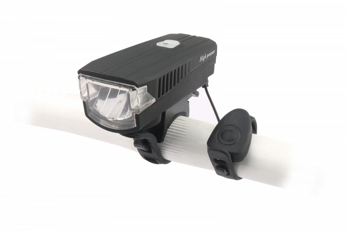 Фото Фонарь пер. BC-FL1588 350лм LED питание Li-on 1200mAh с эл звонком USB Pl с официального сайта OSKAR™