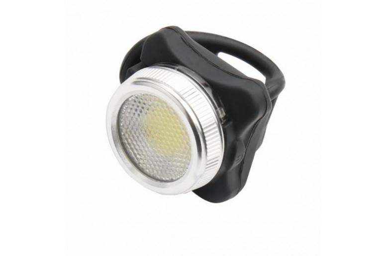 Фонарь габаритный задний (круглый) BC-TL5402B LED, USB (красный/белый)