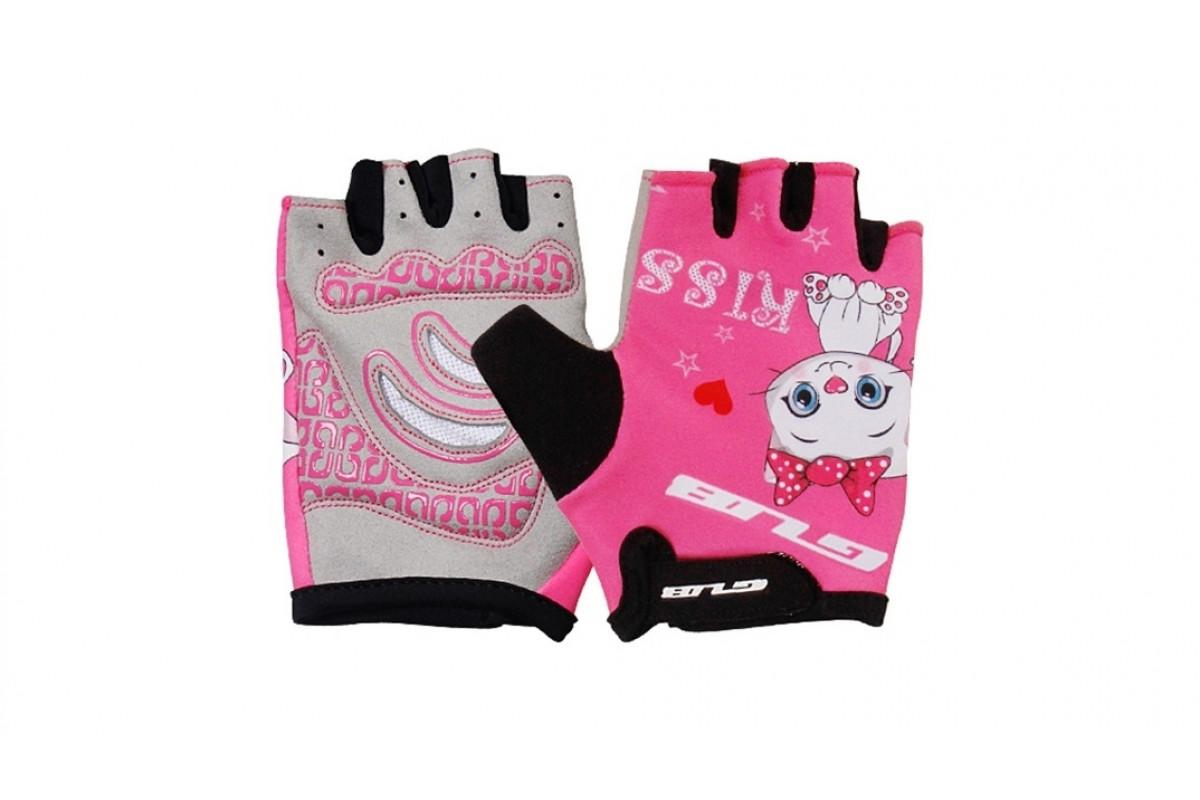 Фото Перчатки велосипедные детские GUB S022 розовый с официального сайта OSKAR™
