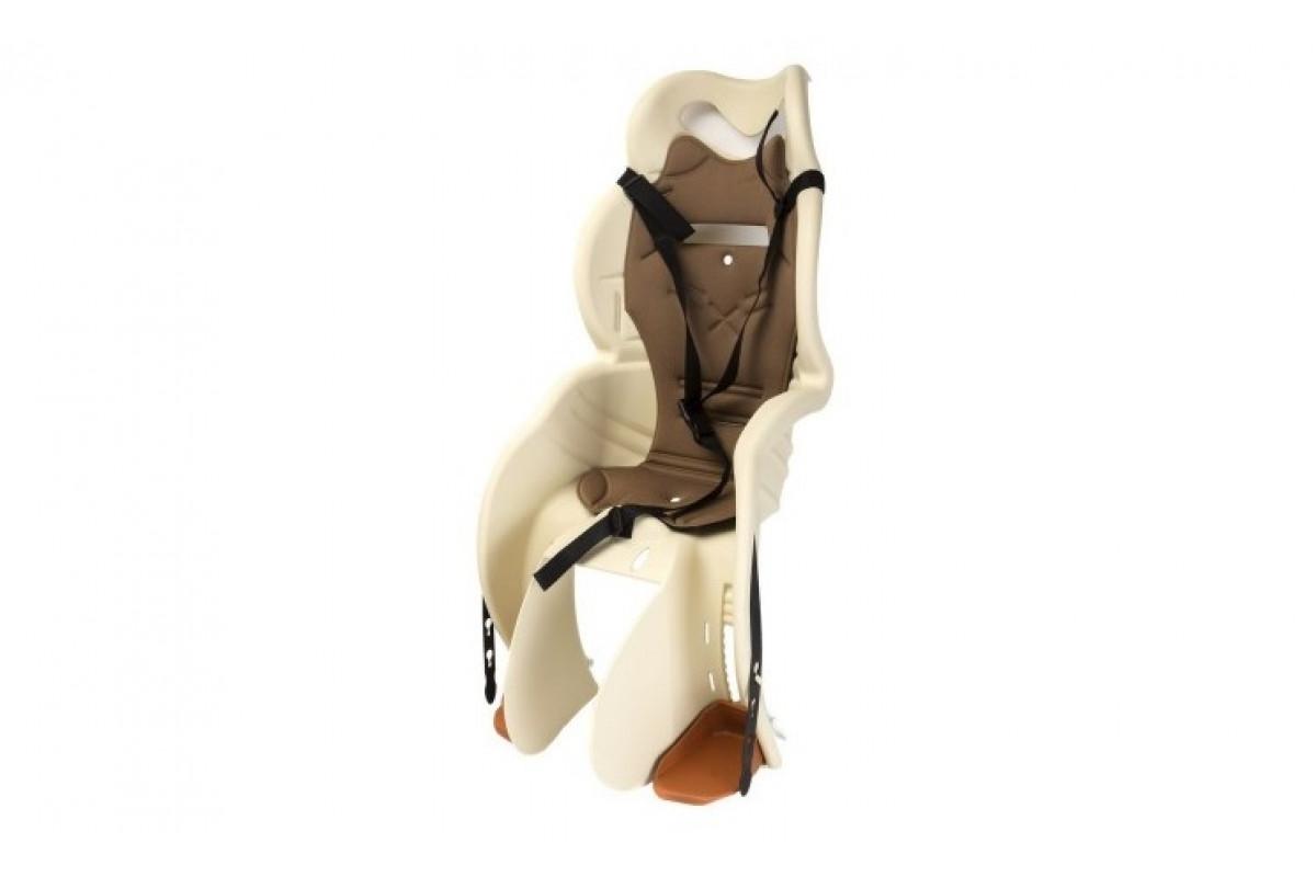 Фото Кресло детское Sanbas P HTP design на багажник бежевый с официального сайта OSKAR™