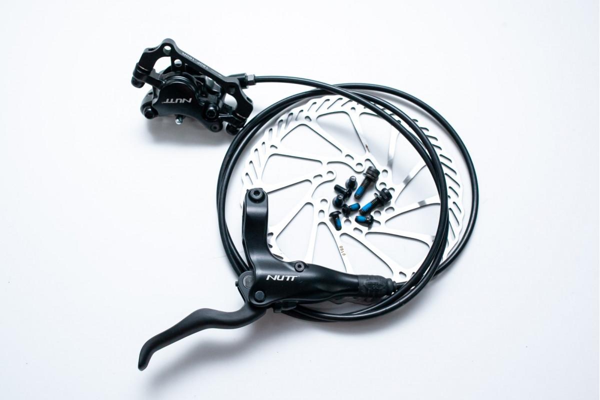Фото Тормоз дисковый гидравл. задний NUTT Y-1 1300мм с ротором 160мм (ED) с официального сайта OSKAR™