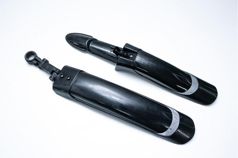 "Крыло 20-29"" Pl JT-007-1 пластиковый кронштейн (черн.)"
