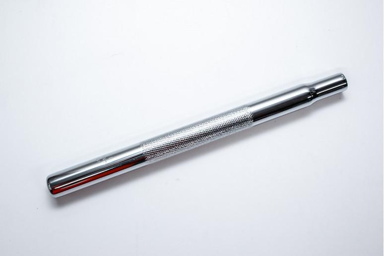 Подседельный штырь St 27.2x350мм 1,8T FUWEI SP-200 с насечкой (CP)