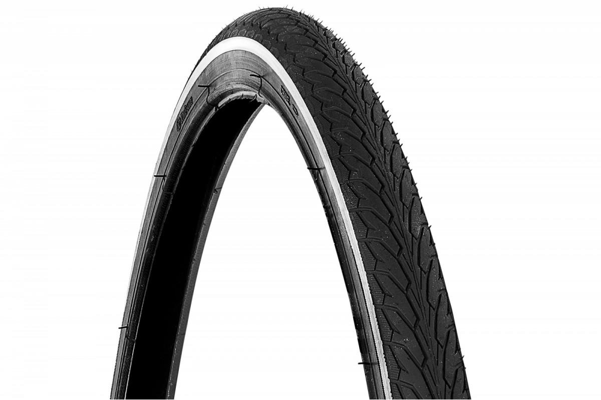 Фото Покрышка 700x40 RUBENA Flash (черный со светтотражающей полосой) с официального сайта OSKAR™