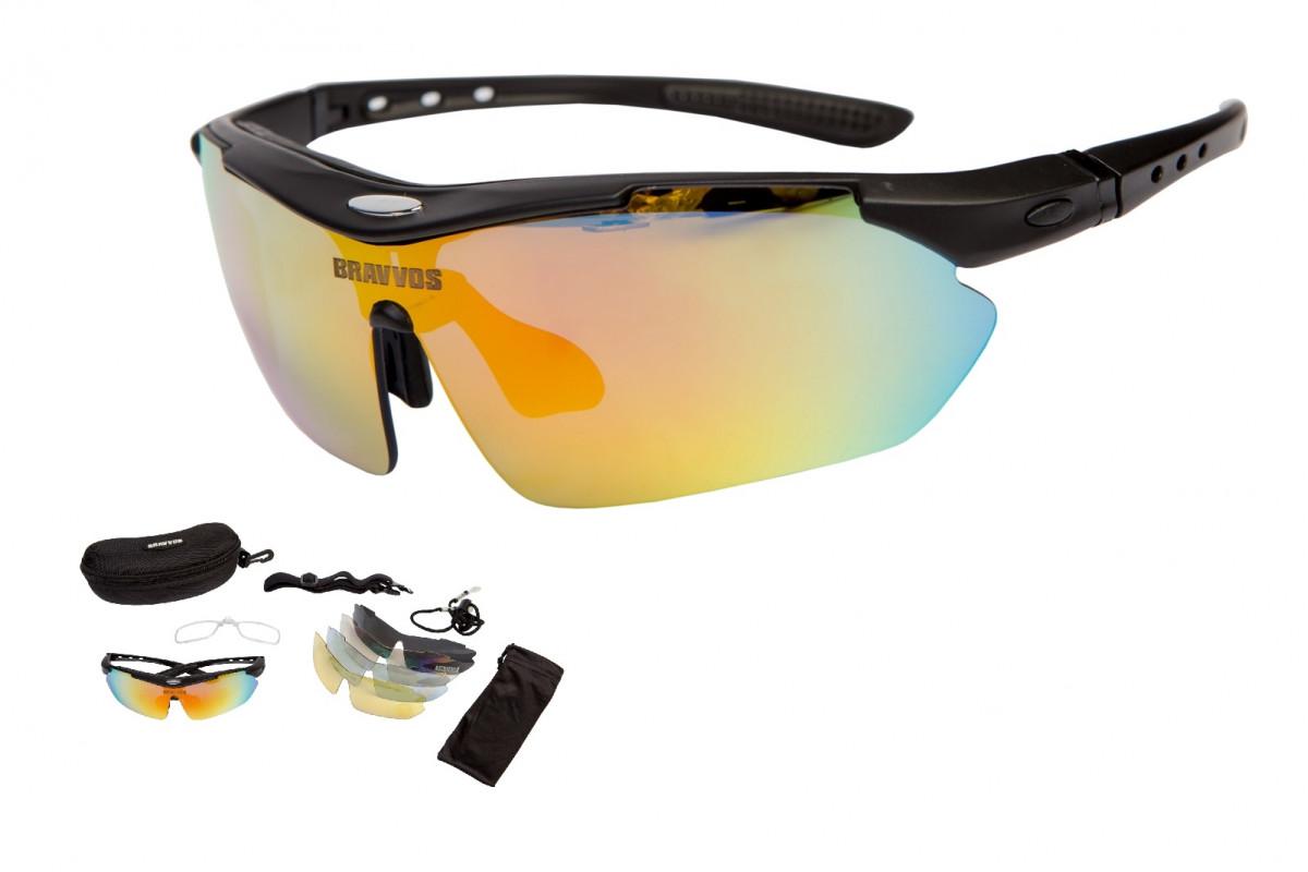 Фото Очки набор со сменными стеклами SS-089 черный с официального сайта OSKAR™