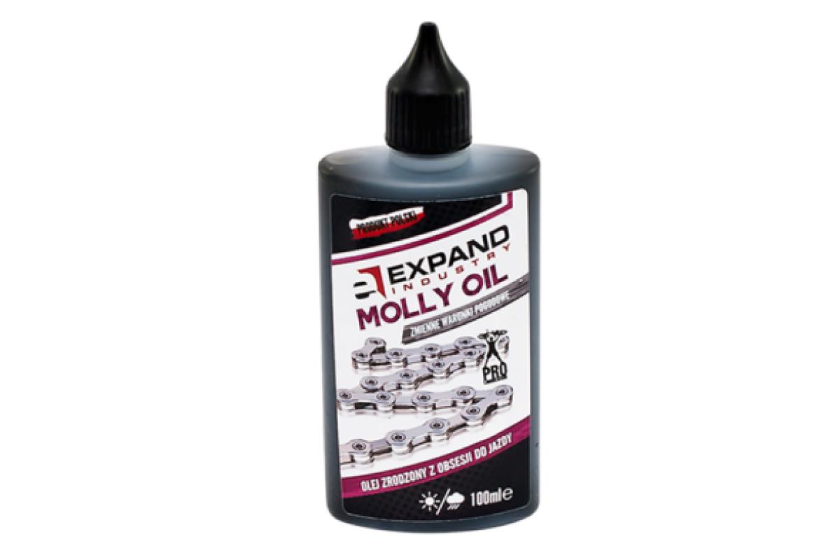 Фото Смазка для цепи EXPAND Chain Molly oil rolling Staff для сложных погодных условий 100ml с официального сайта OSKAR™