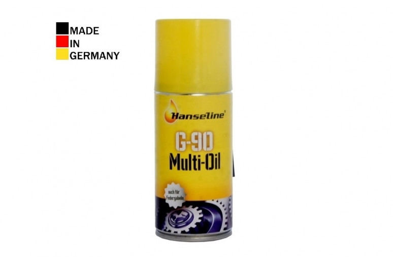 Спрей-масло HANSELINE G-90 Multi-Oil Spray (аналог WD-40) универсальное 150ml