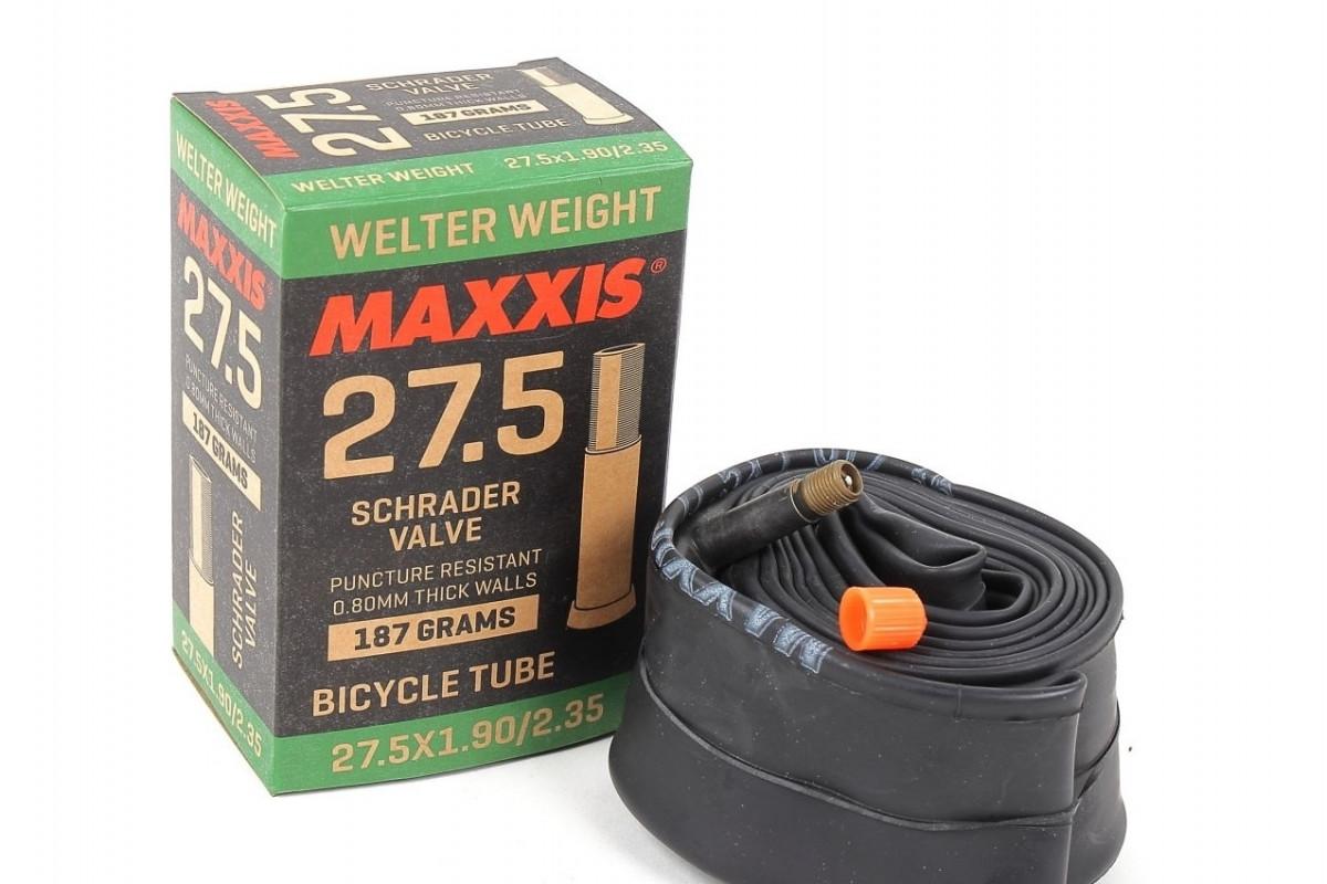Фото Камера 27.5x1.90/2.35 AV (Schrader) 48mm MAXXIS Welter Weight с официального сайта OSKAR™