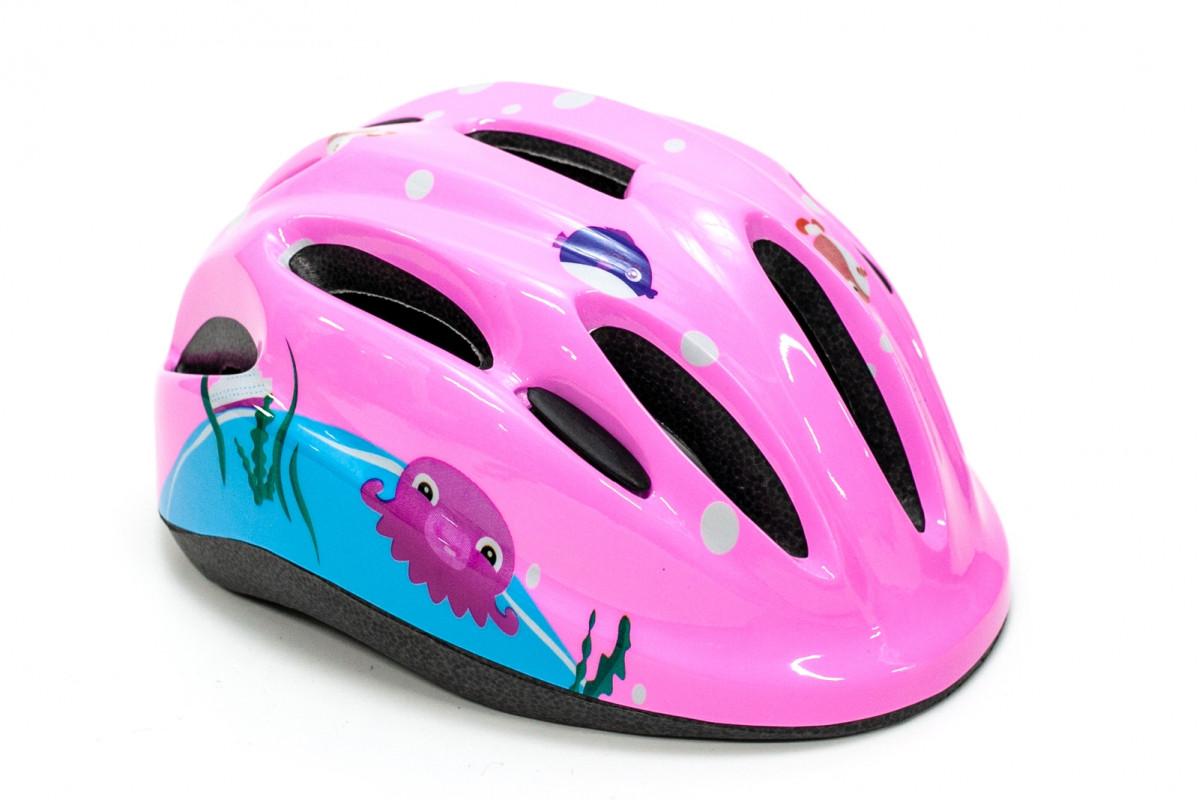 Фото Шлем велосипедный FSK KS502 розовый с официального сайта OSKAR™