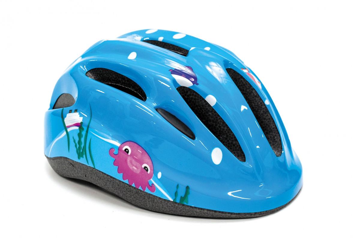 Фото Шлем велосипедный FSK KS502 голубой (голубой) с официального сайта OSKAR™