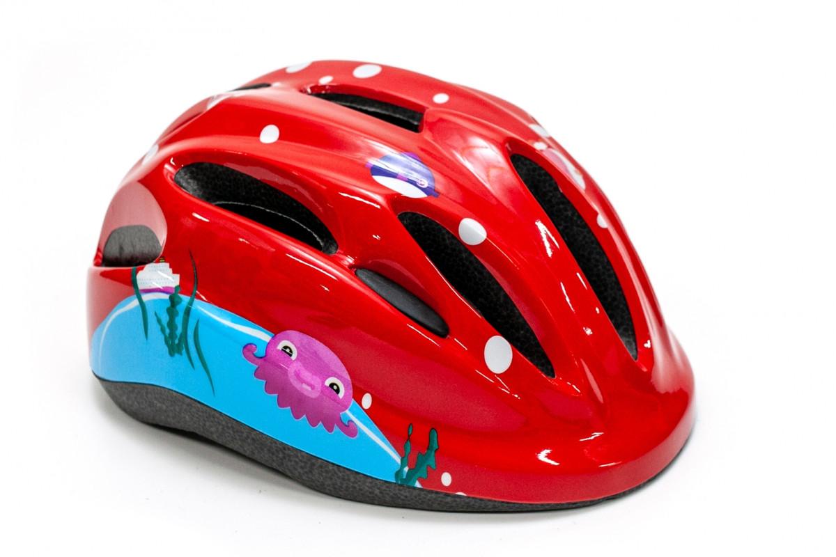 Фото Шлем велосипедный FSK KS502 красный с официального сайта OSKAR™