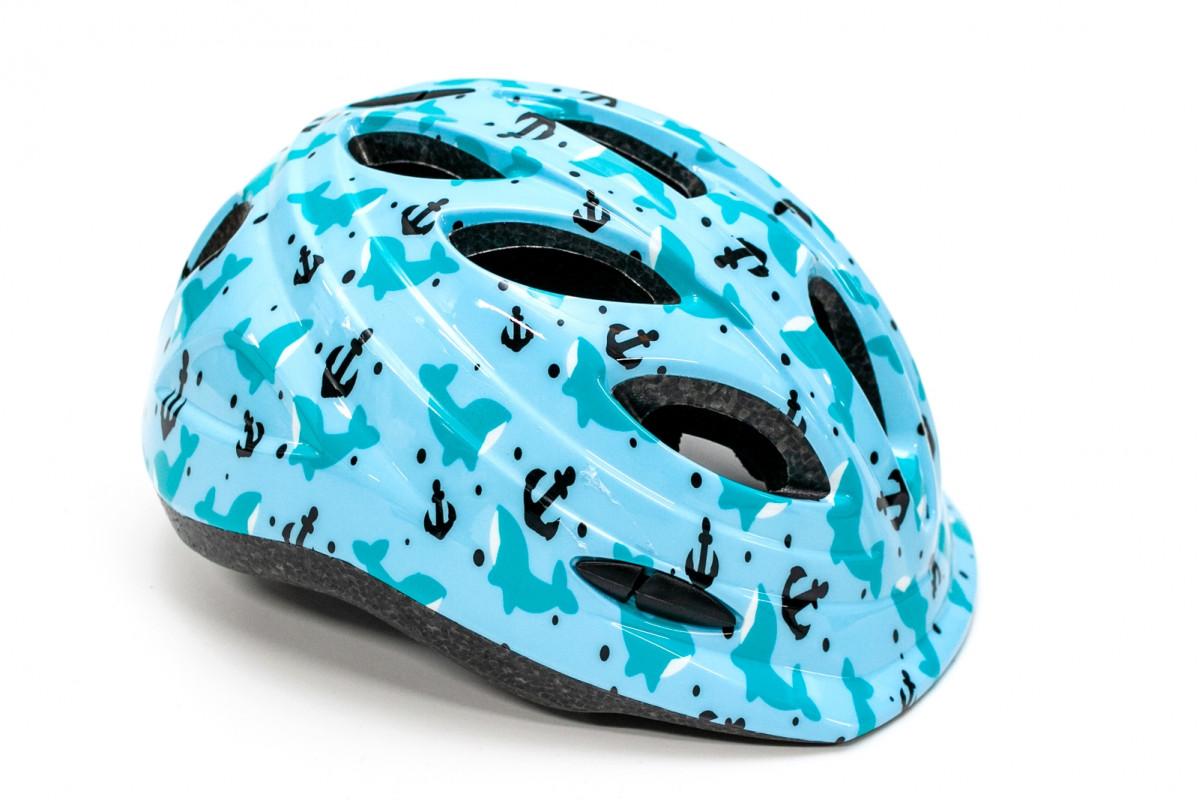 Фото Шлем велосипедный FSK KY501 бирюзовый с официального сайта OSKAR™