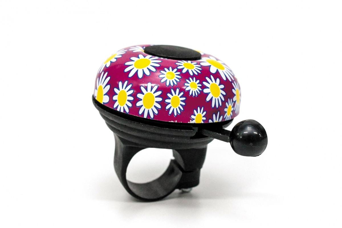 Фото Звонок с цветами фиолетовый BRAVVOS BEL003 с официального сайта OSKAR™