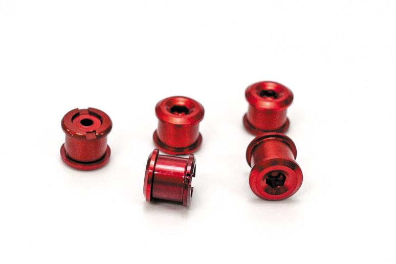 Бонки AL для шатунов высота 6,5мм красный (комплект 5 шт) (красн.)