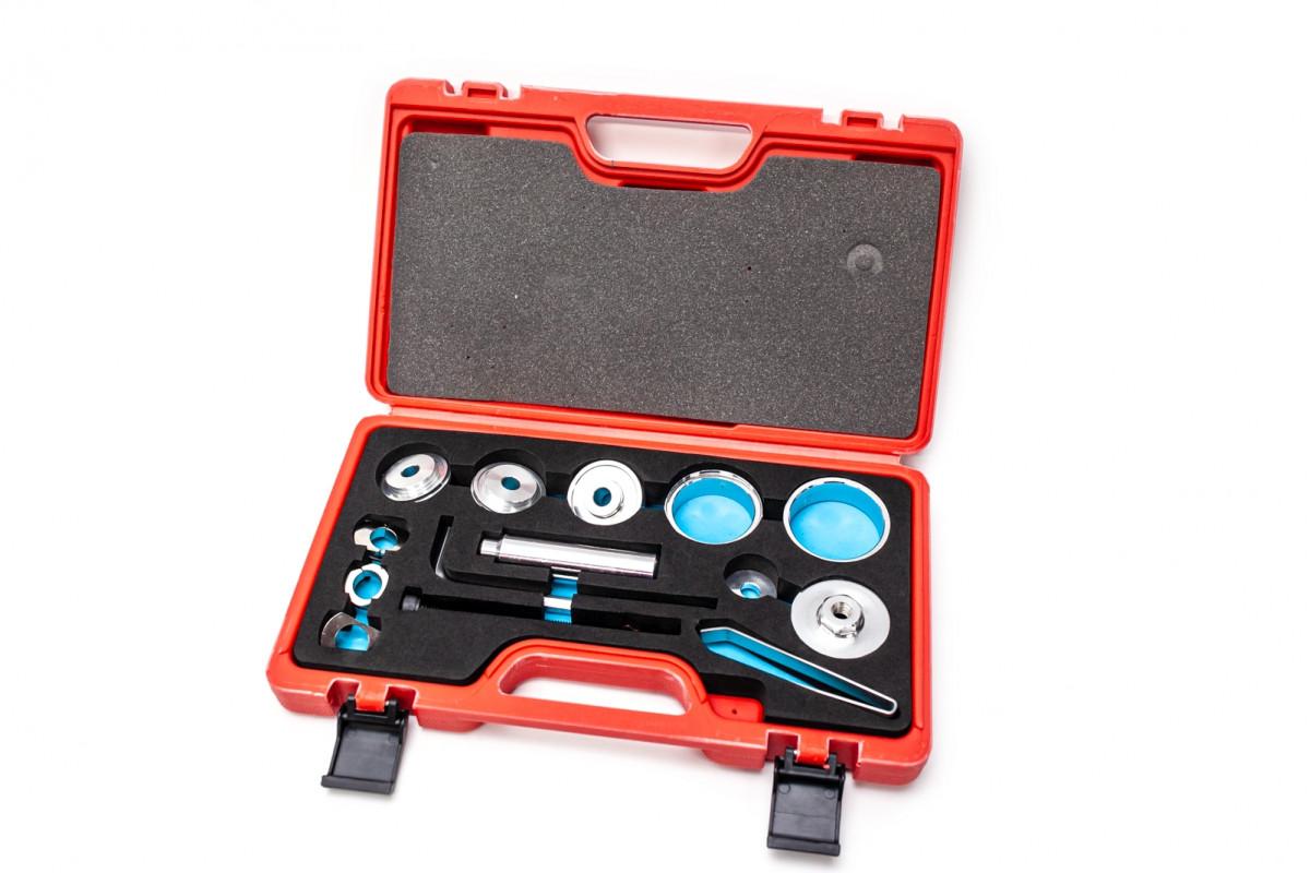 Фото Набор инструментов для запрессовки подшипников рулевых и кареток KL-9817 с официального сайта OSKAR™