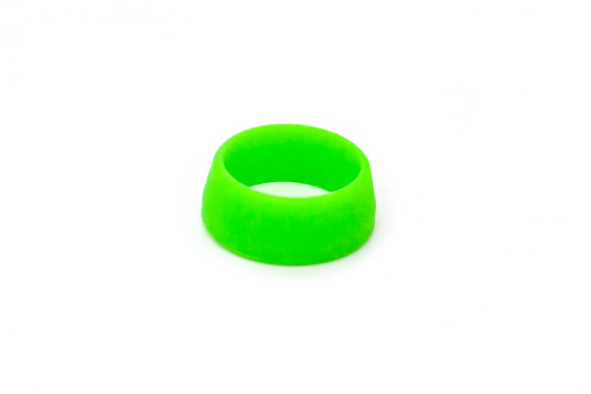 Фото Силиконовое кольцо для защиты подседела (25-30mm) от влаги салатовый RISK с официального сайта OSKAR™