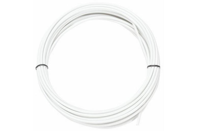 Рубашка троса переключателей белый JAGWIRE (без лого) 4 мм бабина 50 м