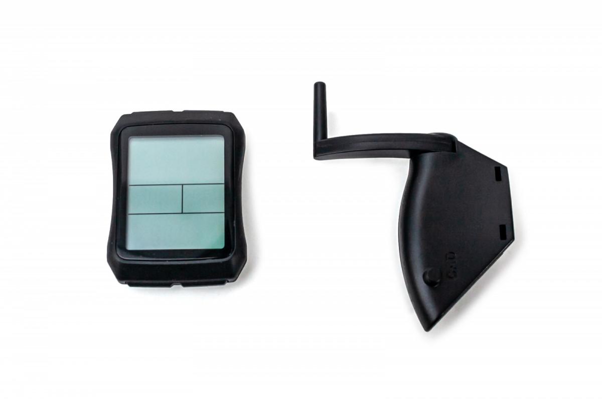 Фото Велокомпьютер беспроводной, YS 603 большой экран, каденс, 19 функций с официального сайта OSKAR™