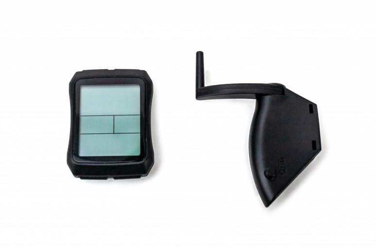 Велокомпьютер беспроводной, YS 603 большой экран, каденс, 19 функций