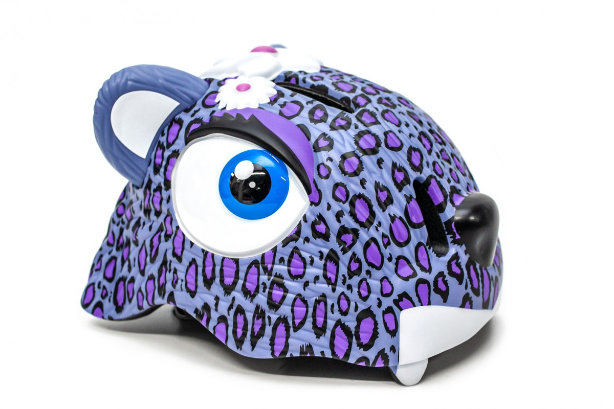 """Фото Шлем велосипедный CIGNA """"Пурпурный леопард"""" с официального сайта OSKAR™"""