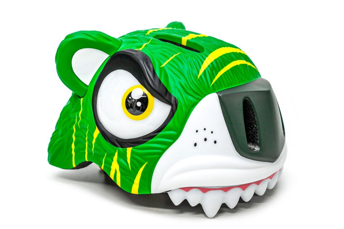 """Фото Шлем велосипедный CIGNA """"Зеленый тигр"""" с официального сайта OSKAR™"""