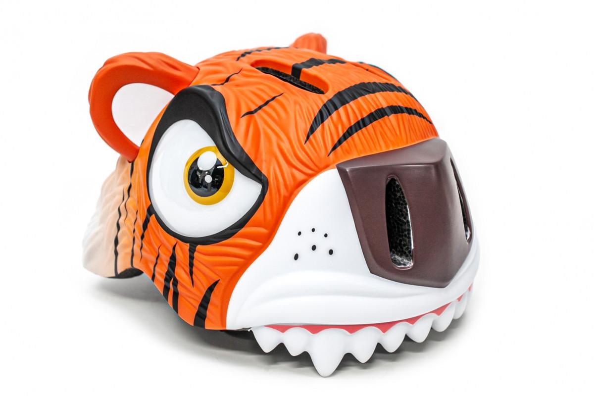 """Фото Шлем велосипедный CIGNA """"Оранжевый тигр"""" с официального сайта OSKAR™"""