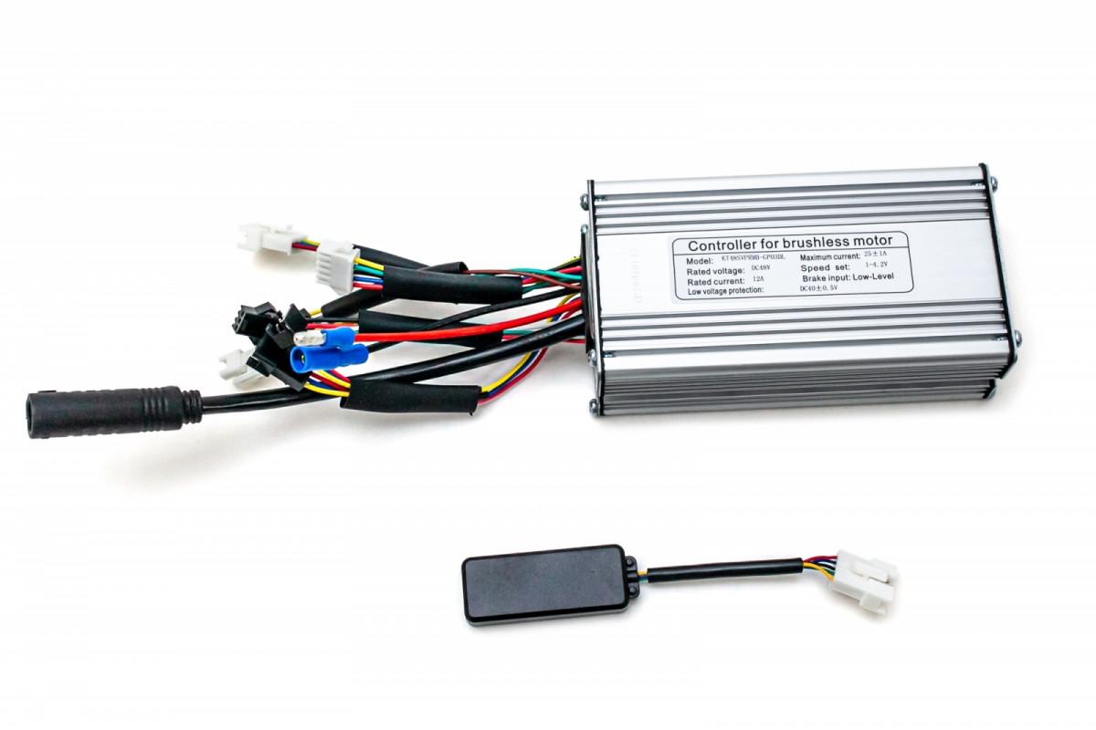 Фото Контроллер синусоидный GP 36В 17A с беспроводным датчиком с официального сайта OSKAR™