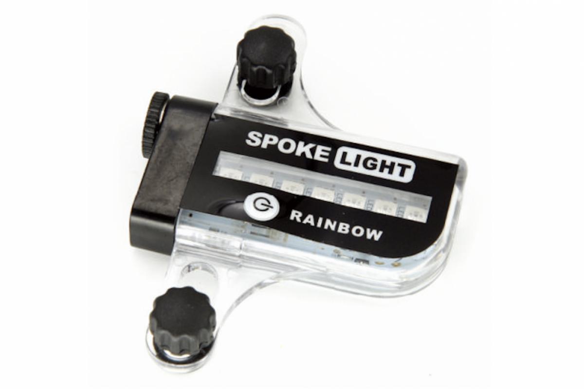 Фото Подсветка на спицы колеса BC-L02A LED с датчиком движения, питание 1*ААА с официального сайта OSKAR™