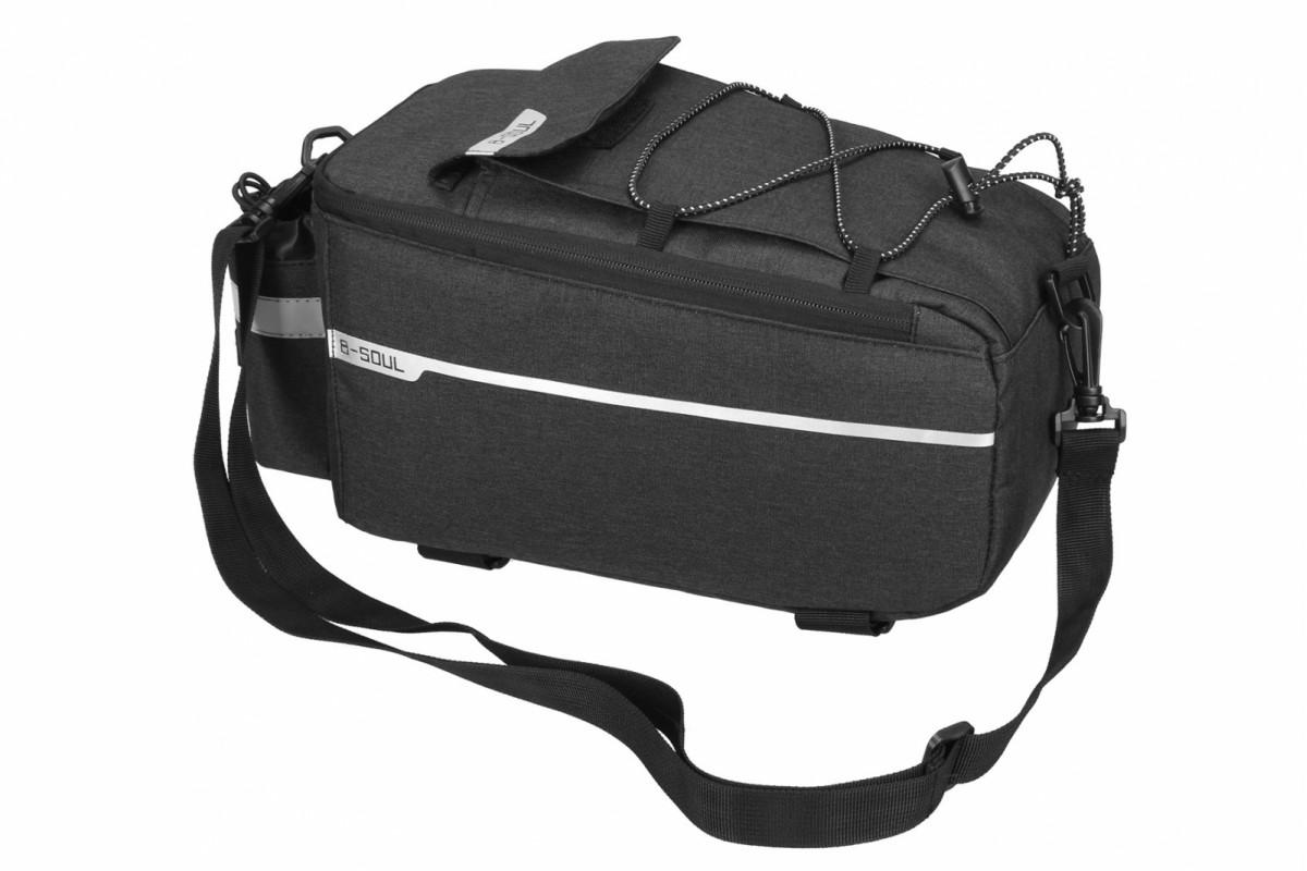 Фото Велосумка на багажник BC-BG165 38*16*16cm черный с официального сайта OSKAR™