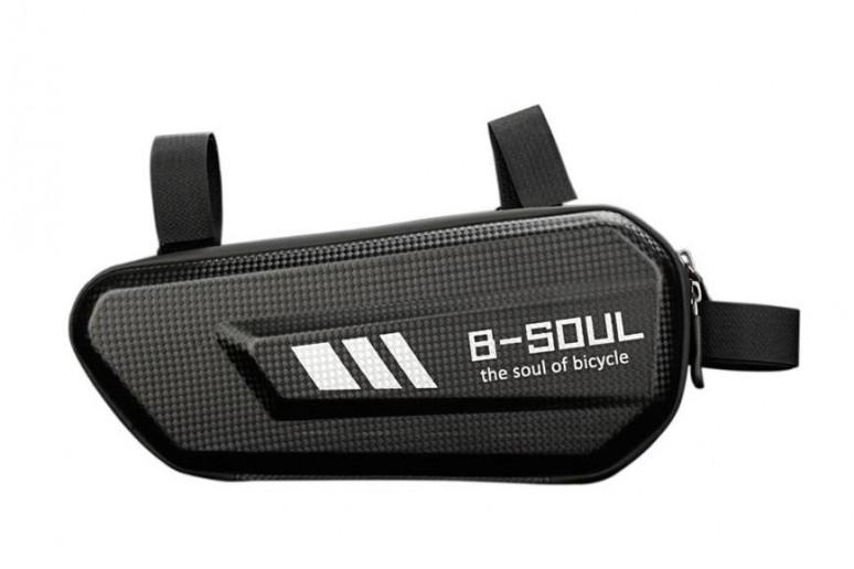 Велосумка -кейс в раму BC-BG168 27*11*7cm черный