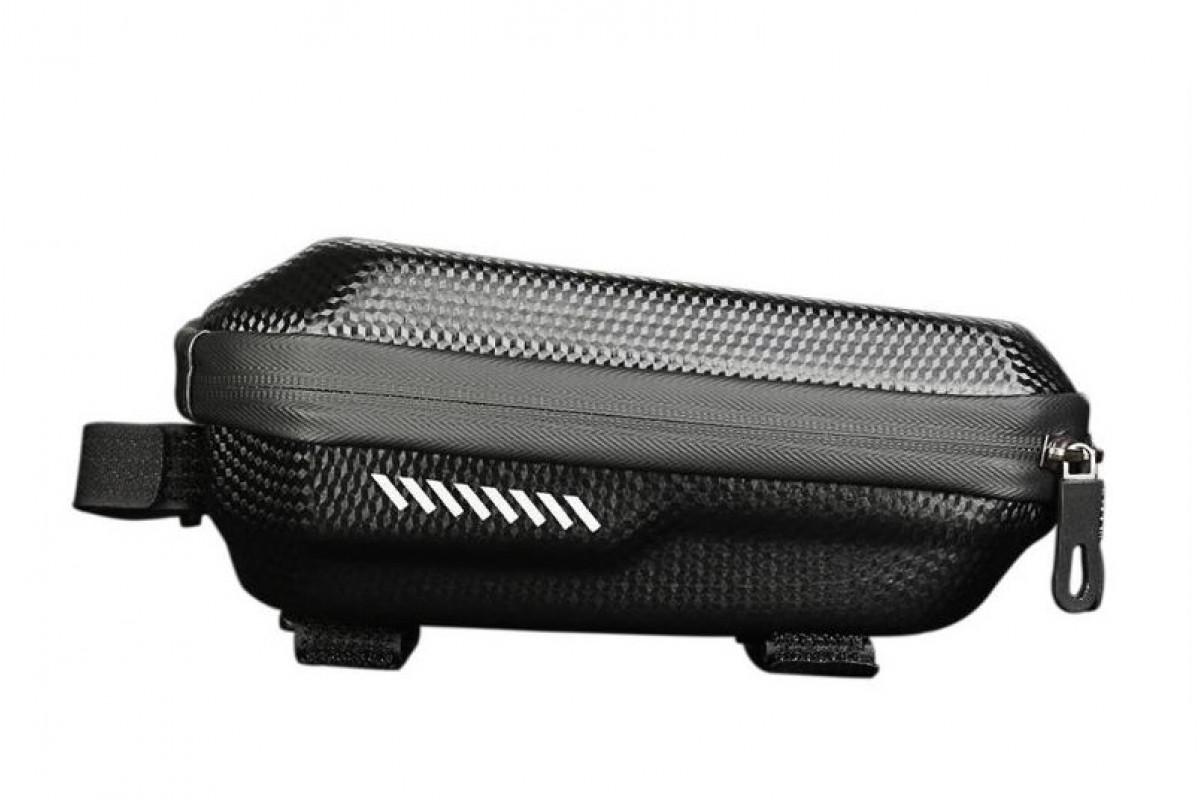 Фото Велосумка -кейс на верхн. трубу рамы BC-BG169 23*10*9cm черный с официального сайта OSKAR™