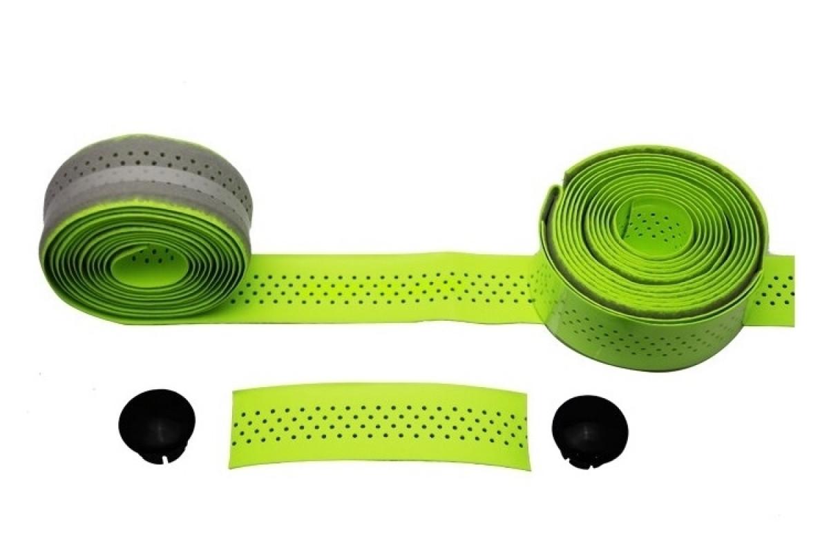 Фото Обмотка для шоссейного руля GUB RACE 3х210 толщ. 2мм PU салатовая с официального сайта OSKAR™