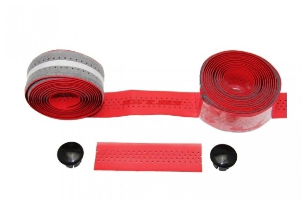 Фото Обмотка для шоссейного руля GUB RACE 3х210 толщ. 2мм PU красная с официального сайта OSKAR™