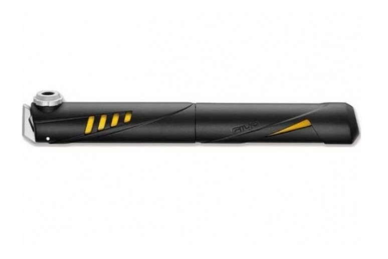 Насос мини GIYO GP-49 пластик. AV/FV (100psi) (черный с желтым)