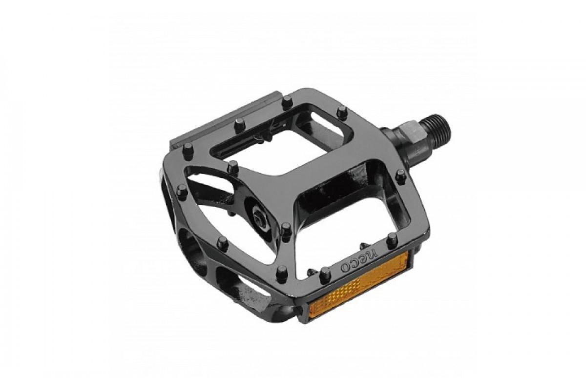 Фото Педали NECO WP-916 BMX алюм. шир. платформа (черн.) с официального сайта OSKAR™