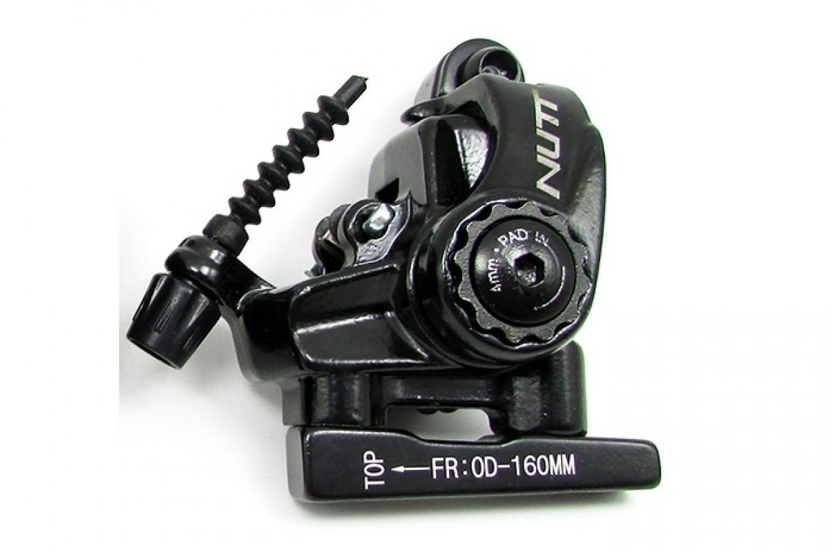 Фото Тормоз диск. механ. NUTT S-6T FLAT MOUNT с адаптером задн. под 160мм с официального сайта OSKAR™