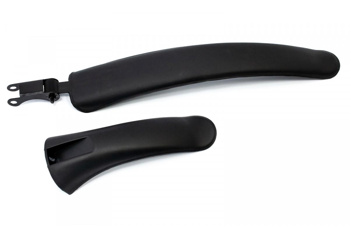 """Фото Крылья 26"""" пластик универс. черн. FSK-BH-420 комплект с официального сайта OSKAR™"""