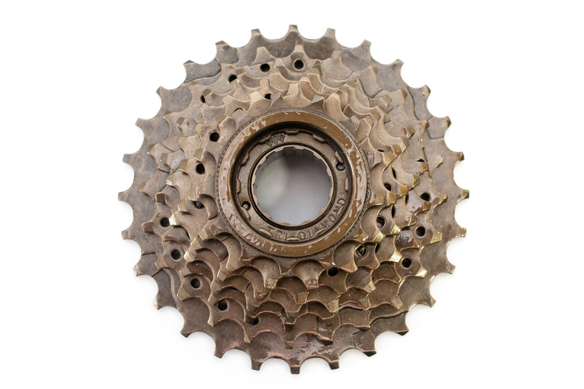 Фото Трещотка 7-к 13-28Т TRI-DIAMOND FW-207 (коричневый) с официального сайта OSKAR™