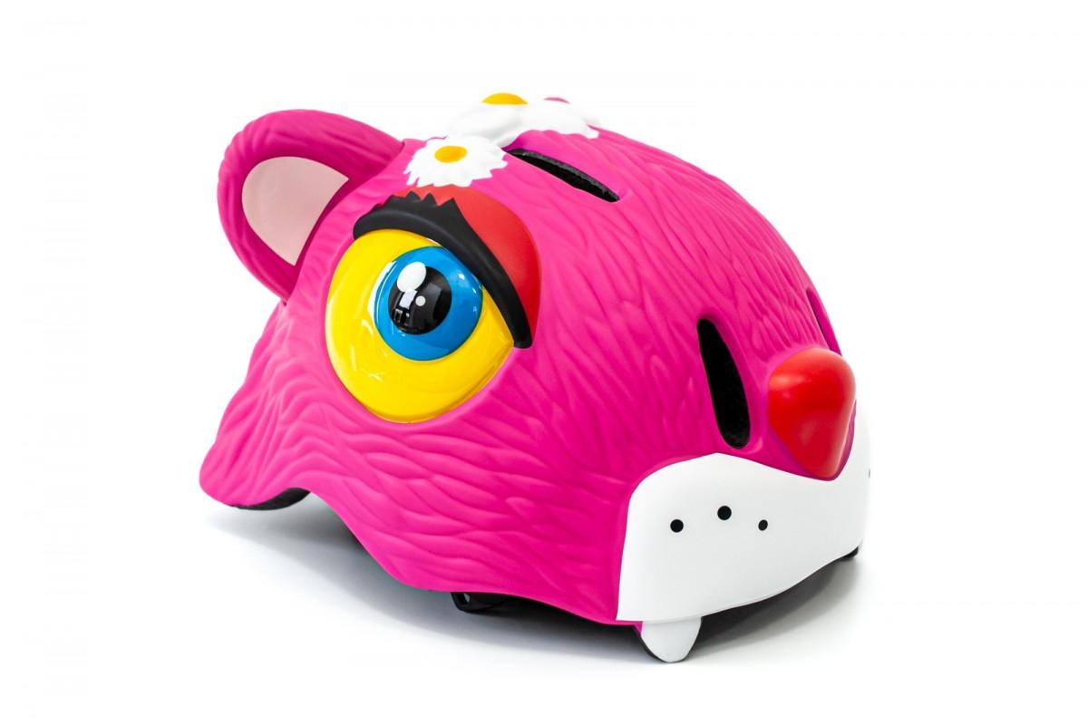 """Фото Шлем велосипедный CIGNA """"Розовый леопард"""" с официального сайта OSKAR™"""