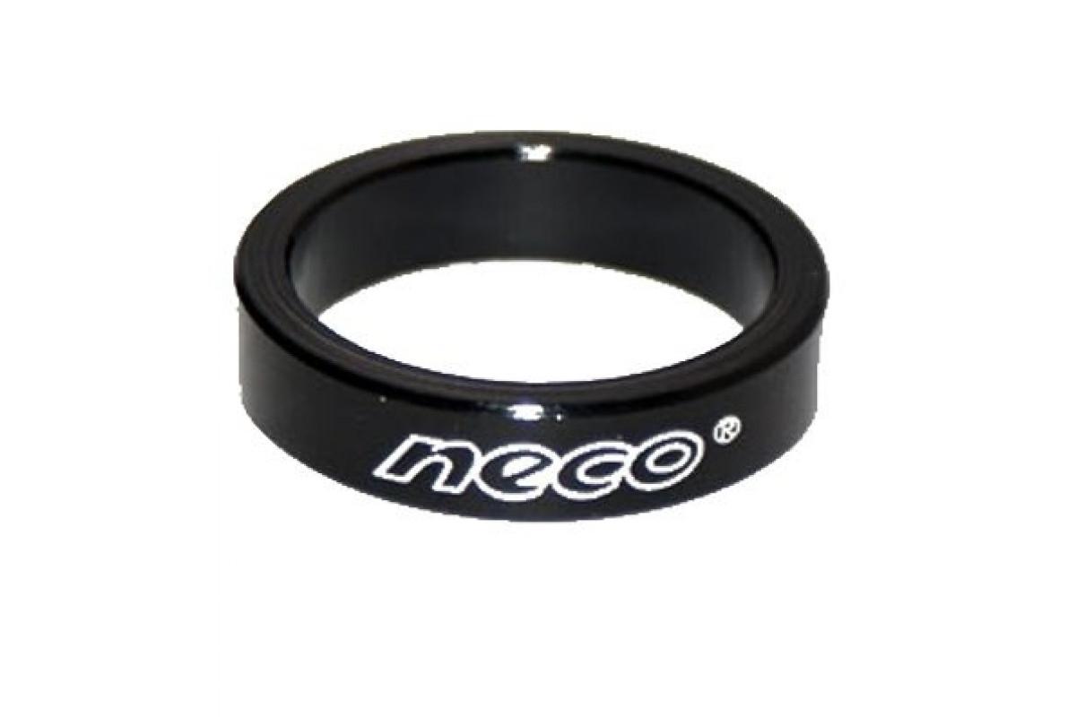 """Фото Проставочное кольцо 1-1/8"""" 5мм NECO 10 шт (черн.) с официального сайта OSKAR™"""